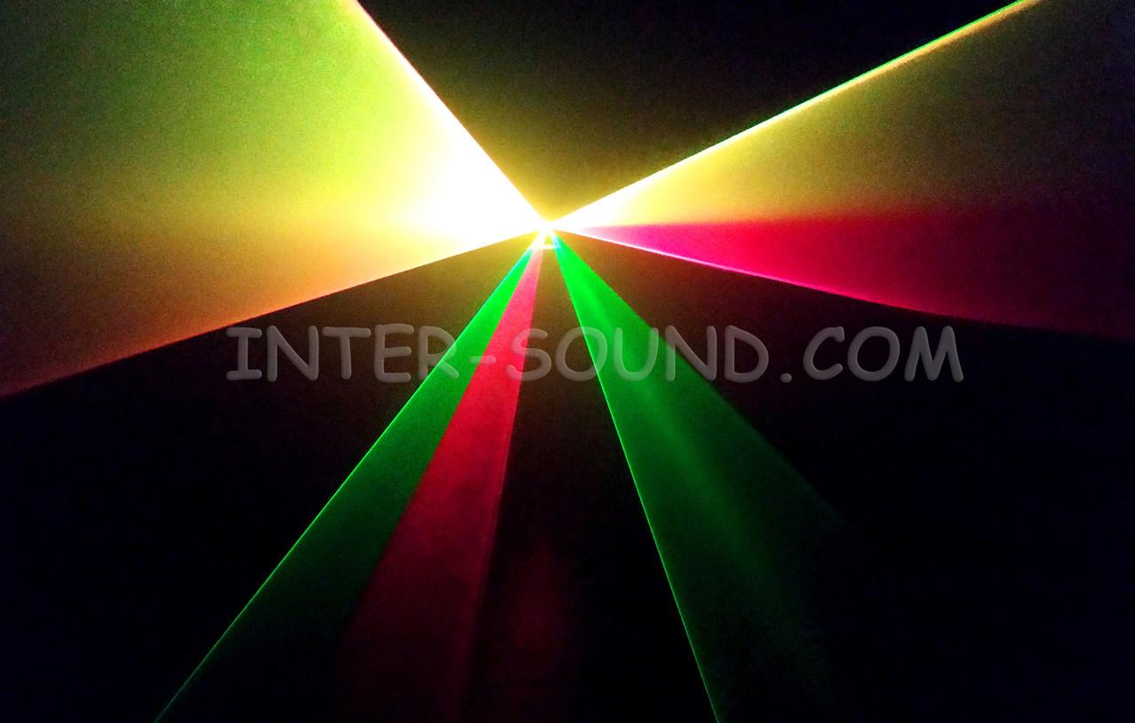 Лазерный проектор дискотечный RGY с пультом ДУ. Dzyga
