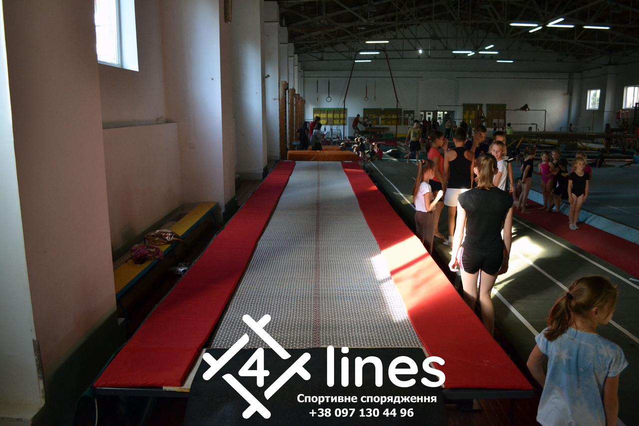 Профессиональная сетка для батутной дорожки 4 Lines - 15м