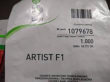 Насіння Огірка Артист F1 партенокарпічний гібрид ранній 10 насінин Bejo, Голландія