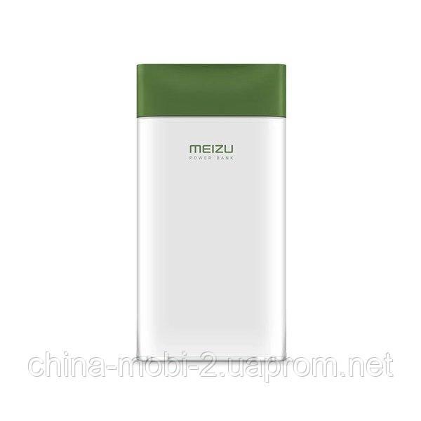 Внешний портативный аккумулятор Meizu M20 10000mAh QC3.0 Green/Silver