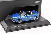 Модель автомобиля Audi TT RS Roadster, Ara Blue, Scale 1:43