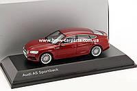 Модель автомобиля Audi A5 Sportback, Scale 1:43, Matador Red