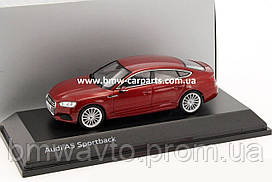 Модель автомобіля Audi A5 Sportback, Scale 1:43, Matador Red