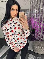 Стильная женская рубашка в расцветках