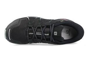 Мужские кроссовки SALOMON SPEEDCROSS VARIO 2 Gore-Tex (398468) черные, фото 2