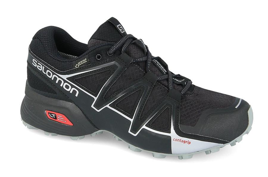 Мужские кроссовки SALOMON SPEEDCROSS VARIO 2 Gore-Tex (398468) черные