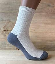 """Шкарпетки чоловічі фірми """"Смалій"""" льон з махрою"""
