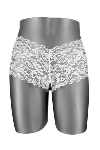 Эротические Трусики  Белые Fashion Secret JULIA