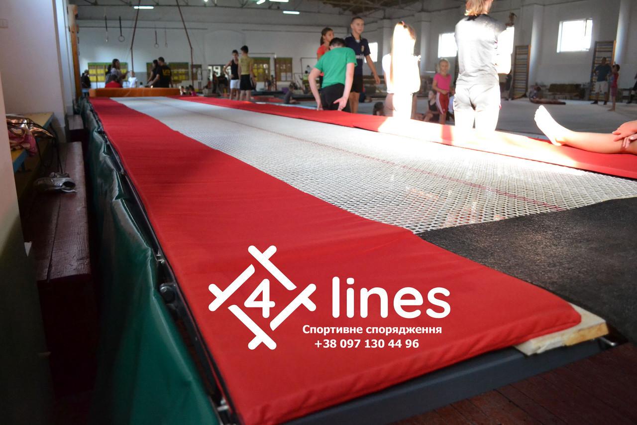 Профессиональная сетка для батутной дорожки 4 Lines - 18м