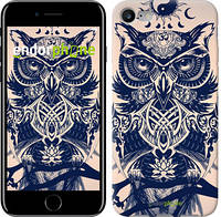 "Чехол на iPhone 8 Узорчатая сова ""4000c-1031-19383"""