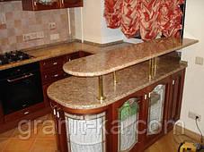 Кухонні барна стійка з граніту, фото 3
