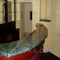 Кухонні барна стійка з граніту, фото 2