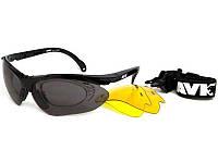 Очки для спорта AVK Esplosivo Black