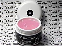 Строительный гель для наращивания ногтей Ice pink (прозрачный) ТМ CityNail 15мл