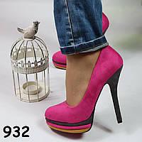 Розовые туфельки 932 размер 38, фото 1