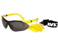 Очки для спорта AVK Esplosivo Yellow