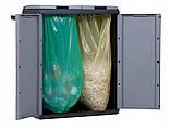 Шафа-контейнер для сортування відходів 2х110л, фото 5