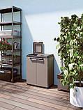Шафа-контейнер для сортування відходів 2х110л, фото 6