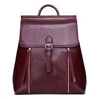 Рюкзак сумка женский трансформер городской Manufactur Бордовый