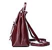 Рюкзак сумка женский трансформер городской Manufactur Бордовый, фото 3