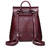 Рюкзак сумка женский трансформер городской Manufactur Бордовый, фото 2