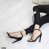 Стильные босоножки А9355 размеры 38,39,40, фото 2