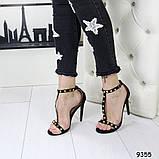Стильные босоножки А9355 размеры 38,39,40, фото 6