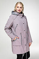Куртка женская на весну большие размеры (50-60)