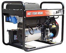 Бензиновий генератор AGT 11501 HSBE R16