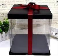 Коробка для Мишки из 3D Роз 40см