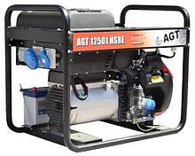 Бензиновий генератор AGT 12501 HSBE R16