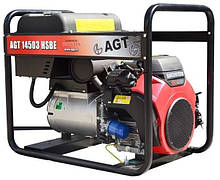 Бензиновий генератор AGT 14503 HSBE R16