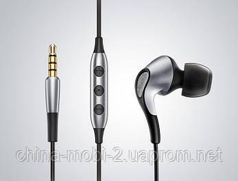 Наушники Meizu Flow 3 Driver Hybrid Earphones. Цвета: серебро, черный, фото 2