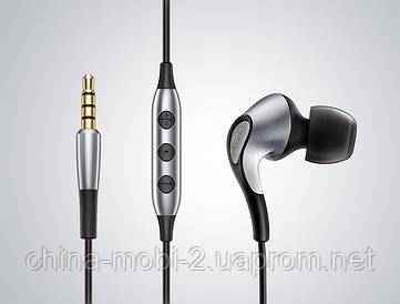 Наушники Meizu Flow 3 Driver Hybrid Earphones. Цвета: серебро, черный