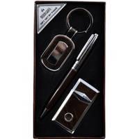 Подарочный набор Moongrass Брелок, ручка, зажигалка AL609