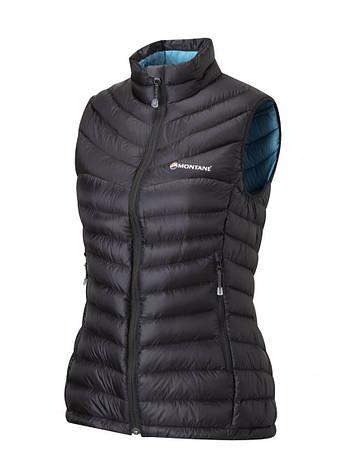 Жилет Montane Female Featherlite Down Vest Black, L, фото 2