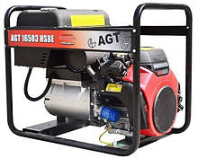 Бензиновий генератор AGT 16503 HSBE R16