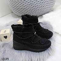 Ботинки зимние _А12135 размеры 38,40 идут на 37,39, фото 1