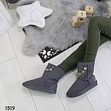 Угги зимние женские _А1519 размеры 36,37 маломеря на размер, фото 4