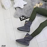 Угги зимние женские _А1519 размеры 36,37 маломеря на размер, фото 6