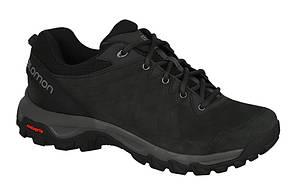Мужские кроссовки SALOMON EVASION 2 LTR (398566) черные кожаные, фото 2