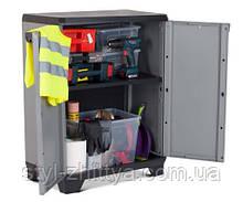 Господарська шафа-контейнер з полицею для зберігання речей