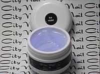 Строительный гель для наращивания ногтей Ice violet (прозрачный) ТМ  City Nail 15мл