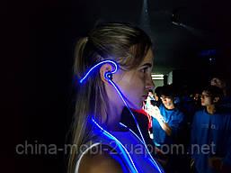 Наушники Meizu Halo. Цвета: красный, синий, фото 3