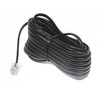 Кабель телефонный Cablexpert Black (TC6P4C-7.5M-BK)