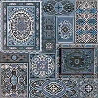 Плитка Атем для пола Atem Aladdin BL 400 х 400 (Аладин напольная голубая)