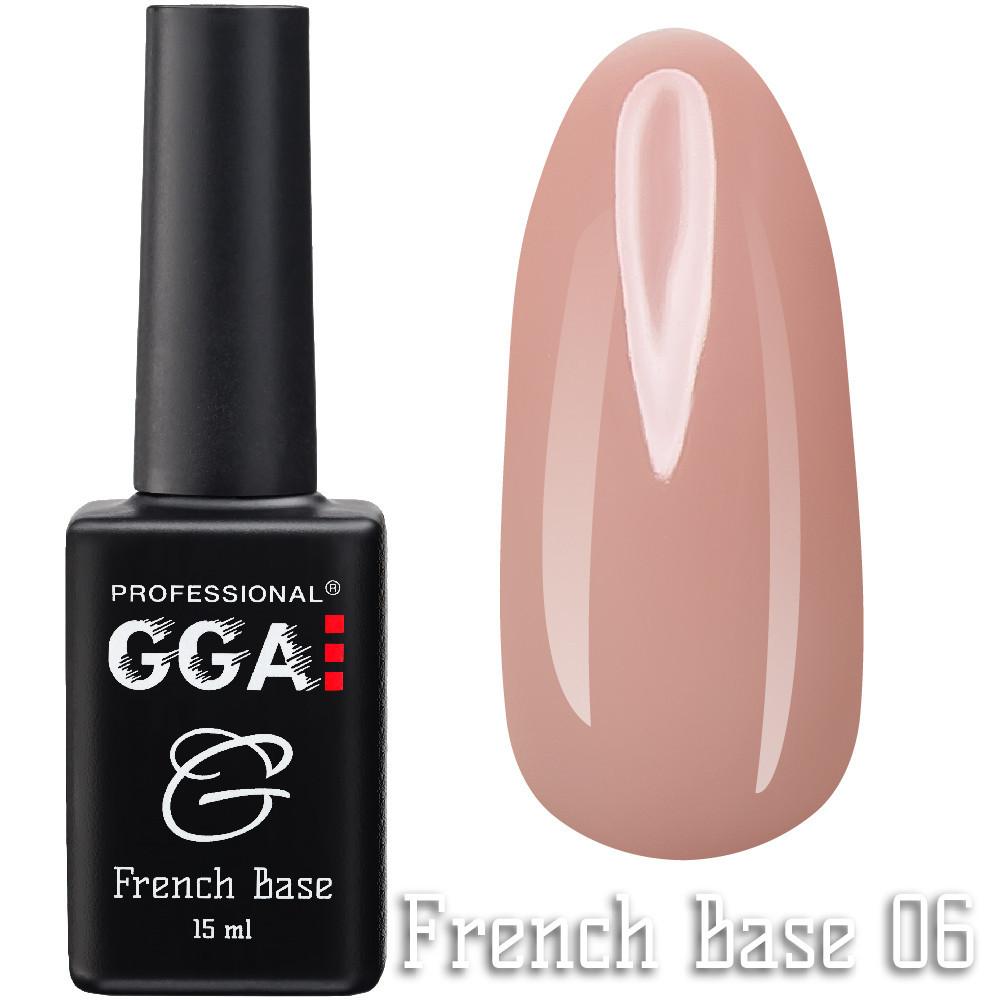 French Base GGA Professional № 6, 15мл