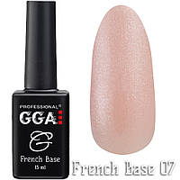 French Base GGA Professional № 7, 15мл
