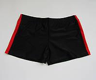 Детские плавки шорты на мальчика Черный + Красный, фото 1