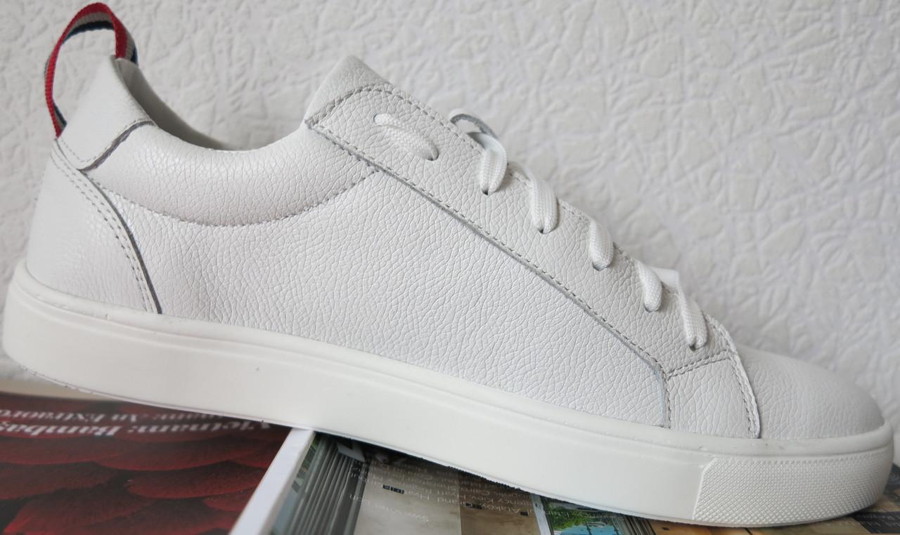 ... В стиле Tommy Hilfiger Супер! Кожаные белые кеды! Туфли мужские  кроссовки db98f33e83839